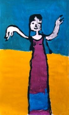 Peinture de Perrine